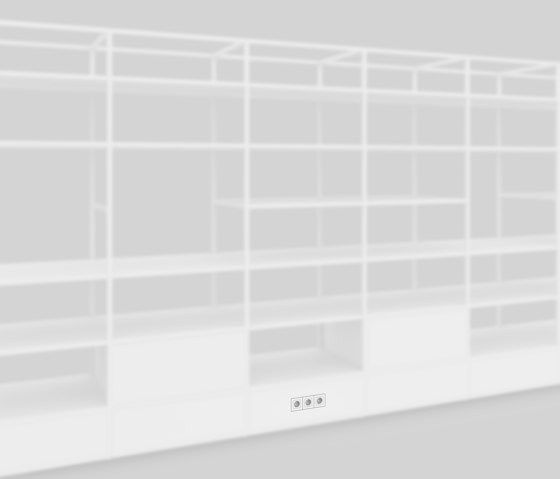 Electric Socket by Artis Space Systems GmbH | Shelving