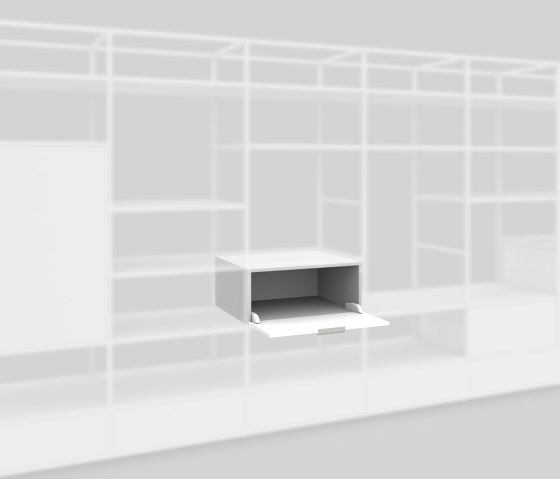 Flap Box 650 by Artis Space Systems GmbH | Shelving