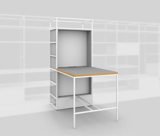 Modul F – Kleiner Tisch 650 von Artis Space Systems GmbH | Regale