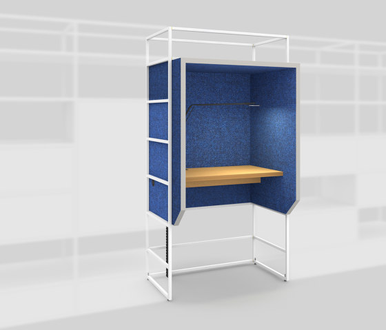 Module K – Silent workplace 650 by Artis Space Systems GmbH | Telephone booths