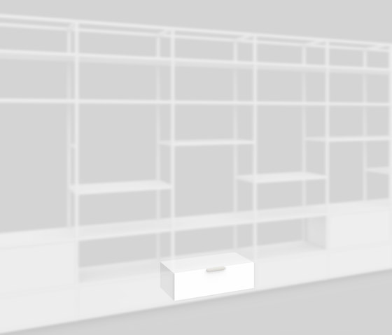 Plinth drawer 400 by Artis Space Systems GmbH | Shelving