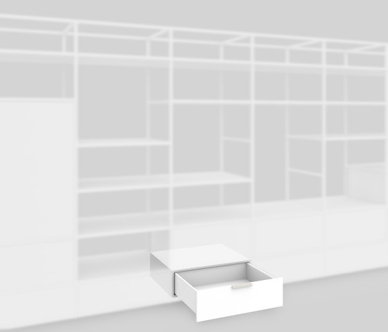 Plinth drawer 650 by Artis Space Systems GmbH | Shelving