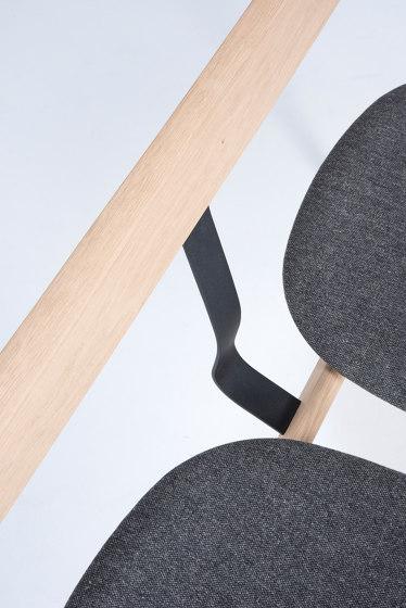 Ava bench | 120x52x77,5cm | Main Line Flax de Gazzda | Bancos
