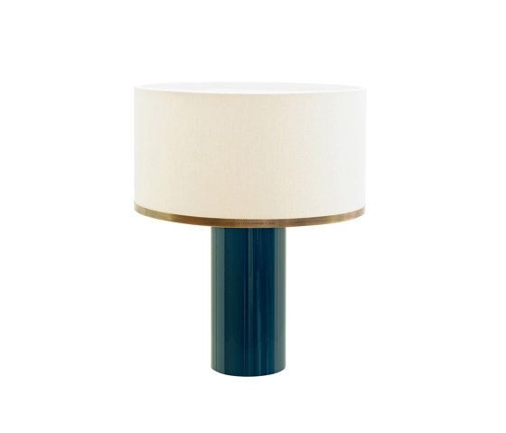 Brera table lamp petrol by Strolz | Table lights