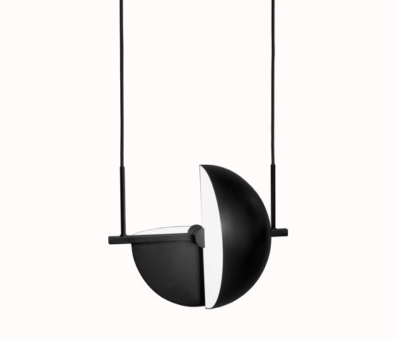 Trapeze Pendant Black by Oblure | Suspended lights