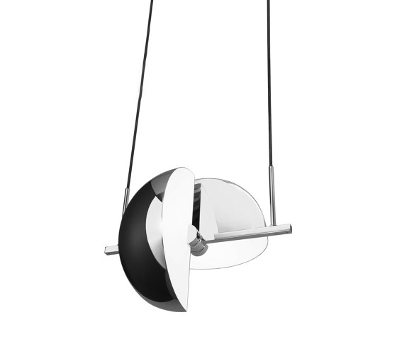 Trapeze Pendant Chrome by Oblure | Suspended lights