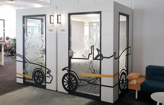 Work Unit |  foil design by OFFICEBRICKS | Office Pods