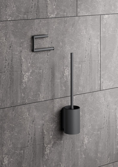 Toilet roll holder powder-coated di HEWI | Portarotolo