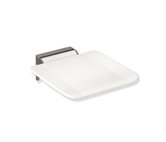 Hinged seat  powder-coated di HEWI