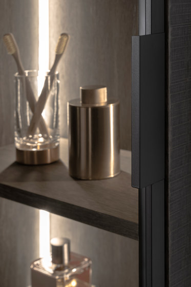 Strato Cabinet Units with Glass Door by Inbani | Freestanding cabinets