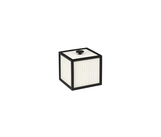 Frame 10 white stained ash by by Lassen | Storage boxes