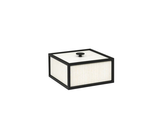 Frame 14 white stained ash by by Lassen | Storage boxes