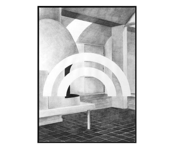 Silhouette - 50 x 70 cm by by Lassen | Wall art / Murals
