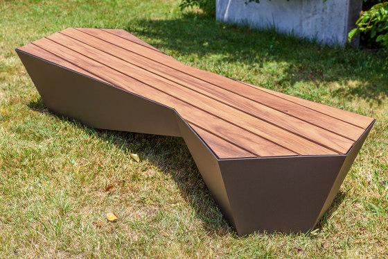Skew Bench von Sit   Sitzbänke