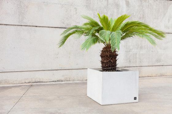Basic Cubik Planter 50 by Sit   Plant pots