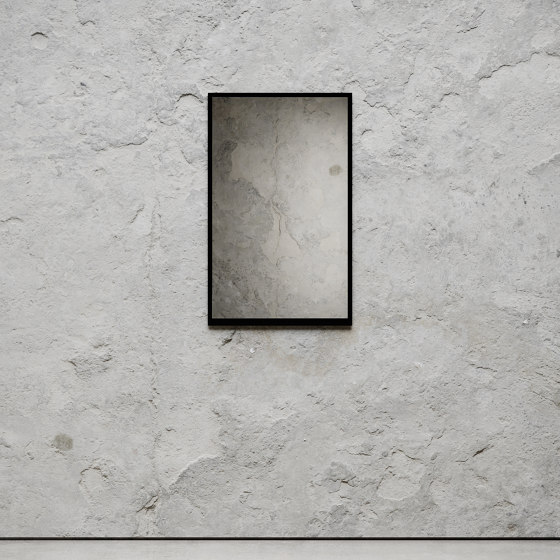 Mirror Small 49 x 79cm - Black by Nichba Design | Mirrors