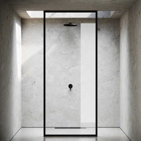 Shower Wall by Nichba Design | Shower screens