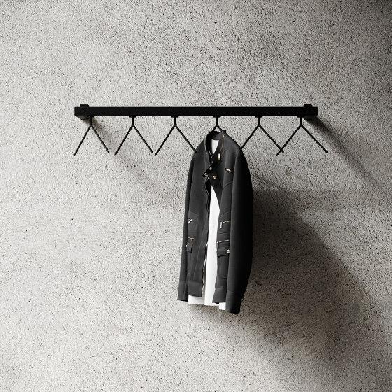 HangSys 100cm by Nichba Design   Coat racks