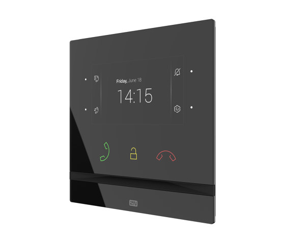 2N® Indoor Compact black by 2N Telekomunikace | Intercoms (interior)