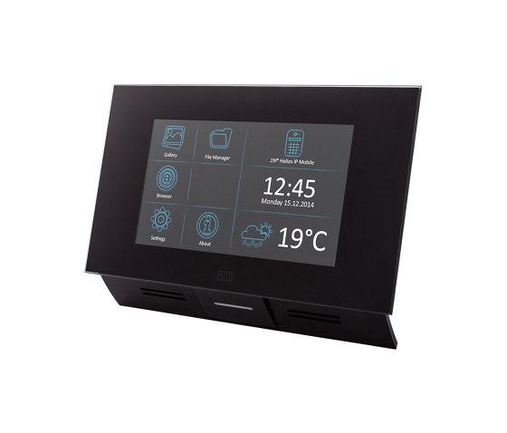 2N® Indoor Touch 2.0 black by 2N Telekomunikace | Intercoms (interior)