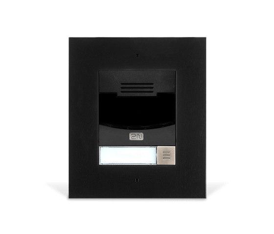 2N® IP Solo Black by 2N Telekomunikace | Door bells