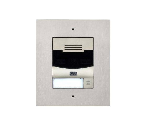 2N® IP Solo Silver by 2N Telekomunikace | Door bells