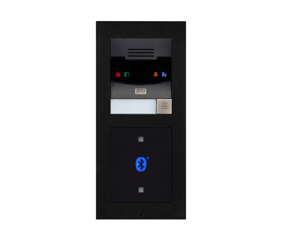 2N® IP Verso Black by 2N Telekomunikace | Door bells