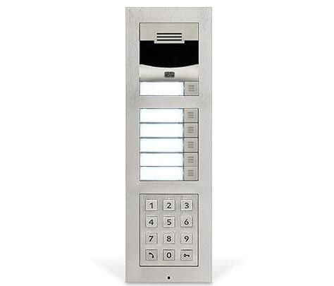 2N® IP Verso Silver by 2N Telekomunikace | Door bells