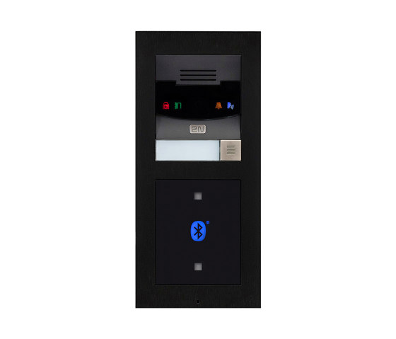 2N® LTE Verso Black by 2N Telekomunikace | Door bells