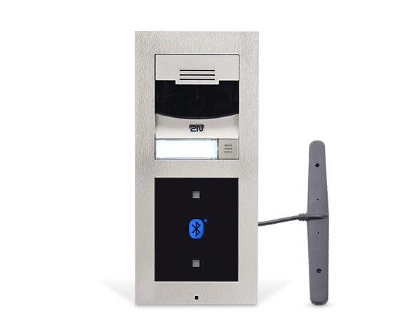 2N® LTE Verso Silver by 2N Telekomunikace | Door bells
