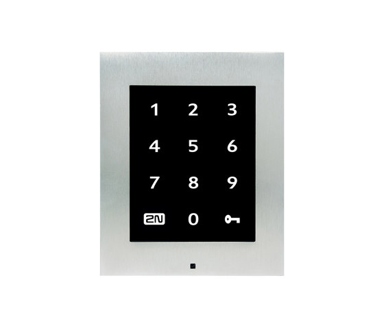 2N® Access Unit Touch Keypad by 2N Telekomunikace | Code locks