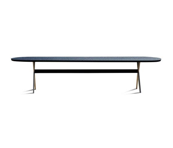 Touch Table with bronze legs de Zanat | Tables de repas