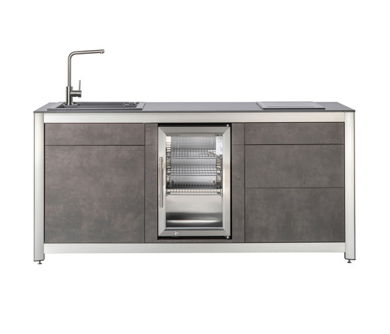 Outdoor Kitchens | All-you-need-module by Wesco | Compact outdoor kitchens