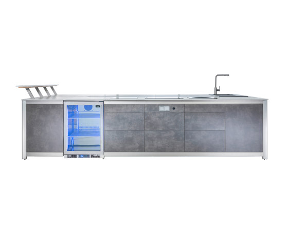 Outdoor Kitchens | Kitchenette by Wesco | Compact outdoor kitchens