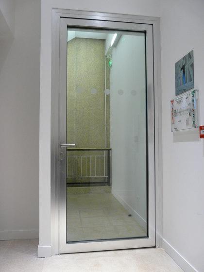 Porte 1 vantail ALUPROTEC de SVF | Portes intérieures