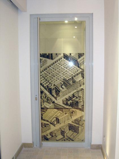 Porte 1 vantail ACIERFLAM de SVF | Portes intérieures