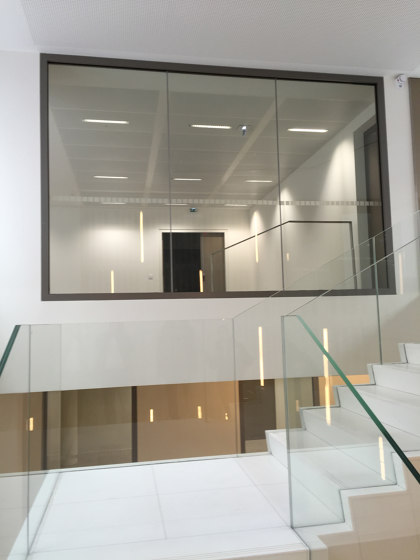 ACIERFLAM edge-to-edge partitions by SVF | Wall partition systems