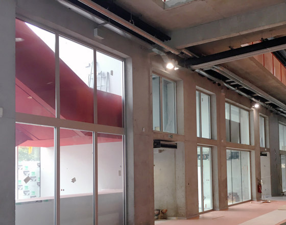 ACIERFLAM Fixed chassis partitions by SVF | Window types