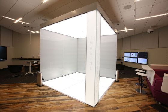 ASB LumiFlex | Dell Cube by ASB GlassFloor | Glass panels