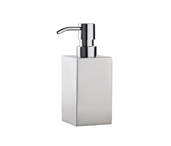 Bathroom Sets | Sq. S/S Soap Dispenser by Andrea House | Soap dispensers