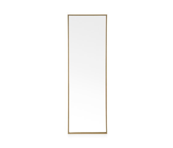 Wall Mirrors | Oak Eff.ect Mirror 40X120cm by Andrea House | Mirrors