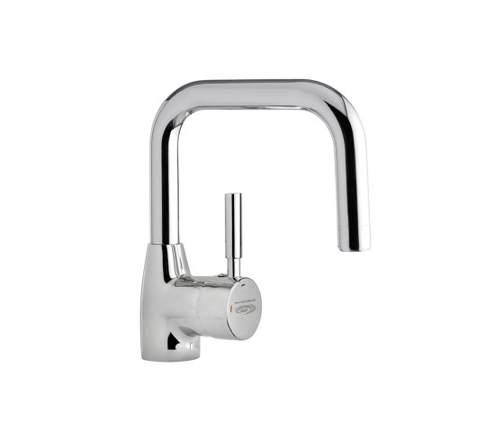 Wudu Manual Lever Pillar Tap Square de Specialist Washing Co. trading as WuduMate | Grifería para lavabos