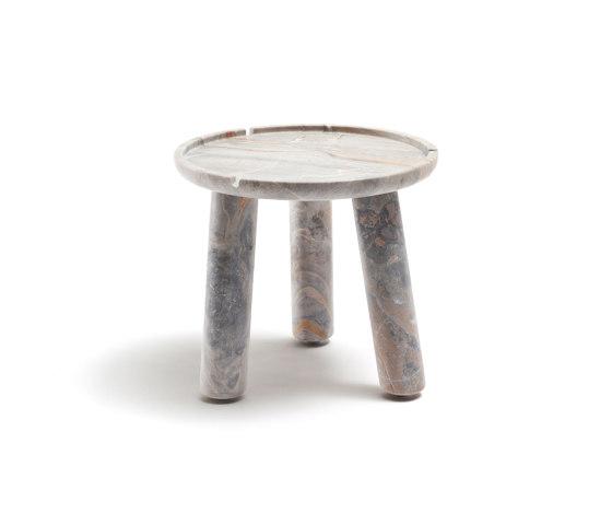 Stone Round Table de Exteta | Mesas auxiliares