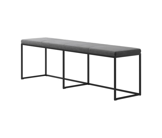 London Bench B011 large with cushion by BoConcept | Benches