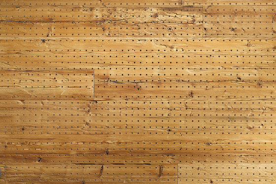 ACOUSTIC Dot Reclaimed Wood hacked H2 by Admonter Holzindustrie AG | Wood panels