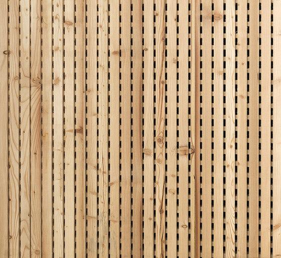 ACOUSTIC Linear Legno Vecchio Larice di Admonter Holzindustrie AG | Pannelli legno