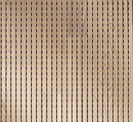 ACOUSTIC Linear Oak basic finger-jointed de Admonter Holzindustrie AG | Planchas de madera