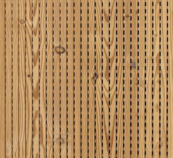 ACOUSTIC Linear Larch aged de Admonter Holzindustrie AG | Planchas de madera