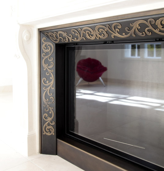 Fireplace Surrounds | FGG by Bergmeister Kunstschmiede | Fireplace accessories