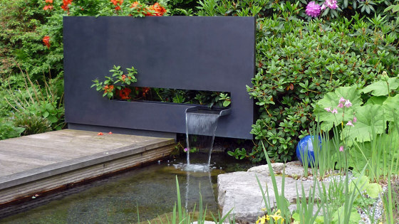 Fountain   WS1 by Bergmeister Kunstschmiede   Waterspout fountains